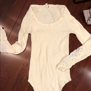 Free people right waffle long sleeve